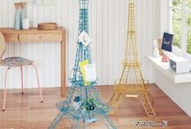 PARIS / パリ風のアイテムを集めました♪