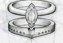 disegno di anelli