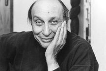 Glaser / Anything and everything related to the life and work of renowned graphic designer, Milton Glaser. / by Matt Rush