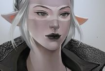 Fantasy - Drow/Dark Elves