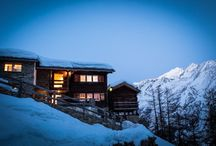 IMMOBILIEN - REAL ESTATE / chalets and apartments in Blatten/Belalp and Saas Fee (Wallis)