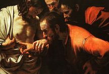 Happy Easter  The Incredulity of Saint Thomas,  Caravaggio, 1601–1602
