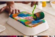 Bricolages d'enfants