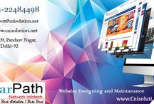 Web Designing Service   Clearpath Network Infotech / Clearpath Network Infotech (www,cnisolution.net), CNI provides Web Solutions to various kinds of businesses operating worldwide. Our Websites are unique and eye-catching, designed by using latest web designing tools like Web 2.0, which empowers our customers to represent themselves online confidently in the global arena to generate more revenue. Our web designers can change your ideas into reality by using their creative talent and knowledge of website standards and practices.