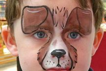 animals facepainting