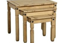 Nest of Tables-Set of 3 Wooden  Tables-Furniture.
