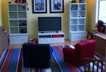 Kids Playrooms / Some great tips and tricks for decorating a fun space for your kids!