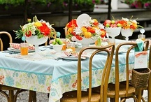 I love a pretty table / by Teri Shively