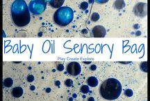 taktilis érzékelés - sensory bags
