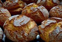 broas pães e bolos