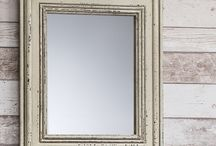 Shabby Chic Interior / Shabby Chic involves rustic finishes and beautiful distressed pieces!