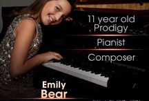 Emily Bear  8-30-2001 (13) / Pianist / Composer  / by Jose Caban