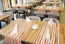 Restaurant, club interiors