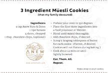 Recipes for Müesli