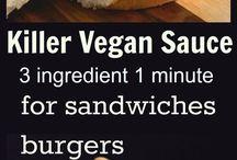 vegan dressings/sauces