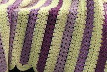 Háčkované prikrývky - Crochet blankets