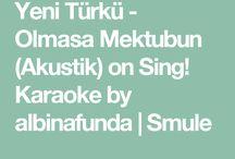 şarkılarım