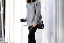 Grey knits for winter!