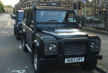 Land Rover Defender Spotting / Land Rover Defender spotted in Scotland