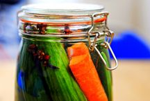 Pickle-liciousness / There's nothing quite like pickles or celery after dessert. / by Margaret Norman