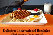 Breakfast (Desayuno) at Casa De Montaña / We have 7 different International breakfasts. A different taste each day. www.casademontana.com