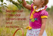 MONTESSORI: SEPTEMBER / Montessori inspired activities for September.