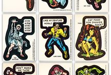 Marvel Topps Stickers
