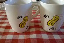 DIY mug / Peanut fan