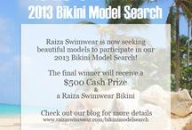 RaizaSwimwear Bikini Model Search / Contest