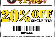 Spirit Halloween Coupons / Spirit Halloween is the largest Halloween specialty store on the planet! Get your coupons here. / by Spirit Halloween