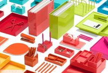 Poppin Office Furniture and Supplies / A look at all the cool and colorful merchandise available from Poppin.