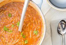 Soep, soups / soepen en soups