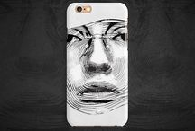 Lacellki | Black & White / Lacellki | Black & White Mobile Cases From Amazing Desingers.