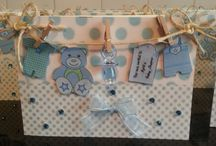 My handmade Baby Shower Invitations
