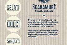 Scaramuré / Per informazioni e ordinazioni tel: 081 19935072 Mobile: 347 8543575 info@scaramure.it Scaramuré e le sue Bianche Alchimie sono anche a Roma,  al Nuovo Mercato di Testaccio, al box 75.  Vi aspettiamo!