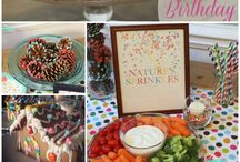 Let's Party / Ideas and inspiration for party decor / birthday parties / bridal showers / celebrations / milestone parties