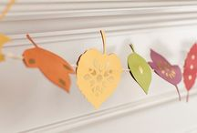 Autumn Crafts with Card and Paper