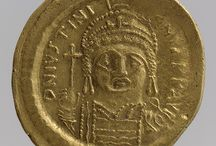 Bizans gold coins