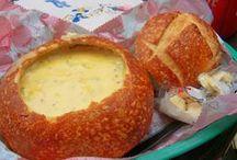 sopa de queijo no pao