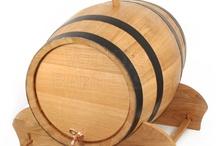100 litres wooden barrel