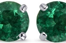 Gemstone Earrings / Ravishing Gemstone Earrings Collection To Enchant Your Eyes & Please Your Heart.