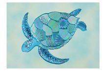 Tortue mosaique