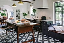Kitchen Decor / Looking for inspiration for your next kitchen project?  Find beautiful eclectic styles here. eclectic kitchen | eclectic decor | kitchen decorating ideas |  To see more inspiration, follow instagram.com/uptodateinteriors