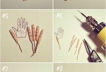 Ruky dlaně