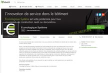 Déploiement sur Houzz & Kicherchekoi / ECONOLOGIQUE SYSTEME se déploie sur les sites Houzz.fr & Kicherchekoi.fr. Il s'agit de deux plateformes qui permettent de découvrir les réalisations et les prestations d'une entreprise (ou d'un particulier) de votre région. Nous travaillons encore sur l'implantation de notre enseigne sur ces réseaux, vous pourrez y découvrir nos prestations très prochainement !  Liens utiles : http://www.houzz.fr/pro/econologique/econologique-systeme https://kicherchekoi.com/