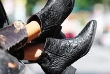 THESE BOOTS / My love for worn out, western booties