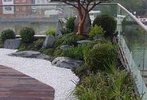 Riešenie záhrady pri dome