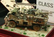 Modellbau Wüstenkrieg