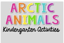 Arctic Animals {Kindergarten Activities} / Arctic Animals Theme Activities (polar bears and other arctic animals ) Art, Science, Reading, Math, Writing, Technology and everything in Between