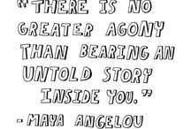 It's always about the *STORIES* :D / Need we say more :)